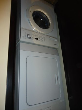 Copper Point Resort: Washer and dryer - great to have!