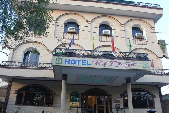 Hotel Taj Plaza: Enterence