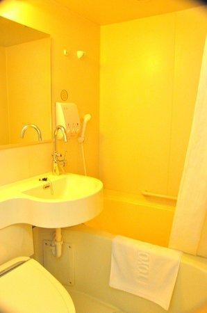 Toyoko Inn Seoul Dongdaemun:                   compact toilet