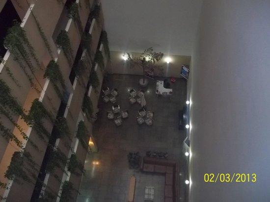 Hotel Lanville Athenee:                   vista del sexto piso