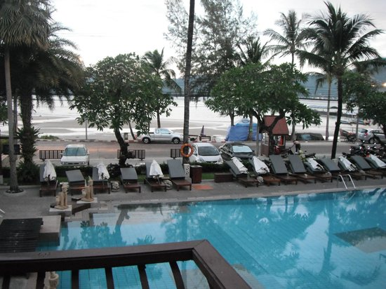 Seaview Patong Hotel:                   view from room 208