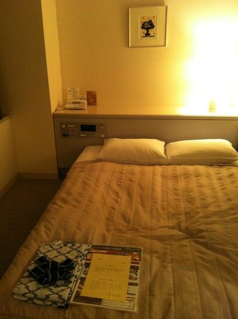 Shinjuku Washington Hotel Main:                   Hotel Bed