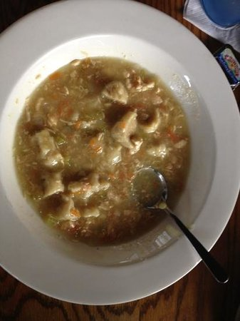 Toucans Ale House:                   chicken and dumplings