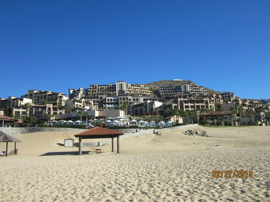 Pueblo Bonito Sunset Beach Golf & Spa Resort:                   view from beach