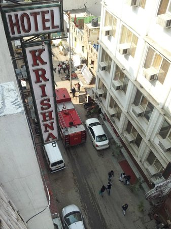 Hotel Krishna:                   View watching from corridor located on 2/F