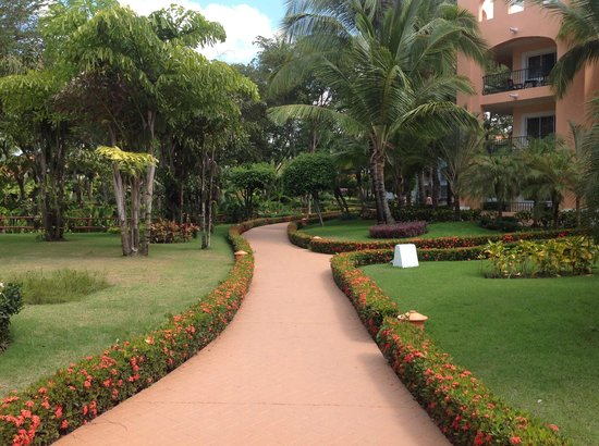 Iberostar Hacienda Dominicus: hotel grounds