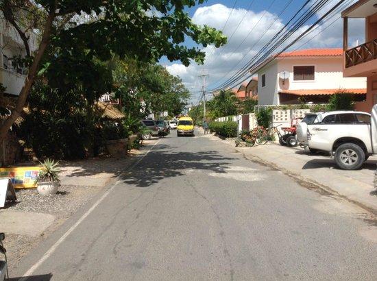 Iberostar Hacienda Dominicus: Dominicus street