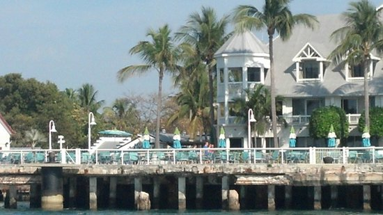 The Westin Key West Resort & Marina:                   Ours was on the end on the second floor.
