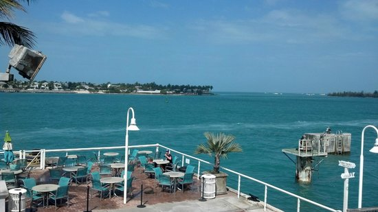 The Westin Key West Resort & Marina:                   View from our balcony - amazing.