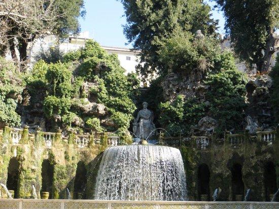 Appian Line Tours Rome :                   d'Este Gardens