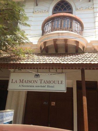 Neemrana's - La Maison Tamoule:                   Main Entrance