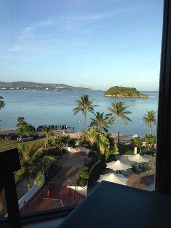 Onward Beach Resort :                   部屋からの眺め