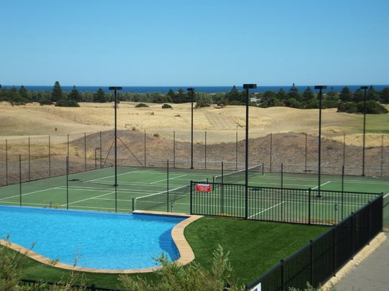 Links Lady Bay Resort:                   Pool, tennis court, gold course and ocean view