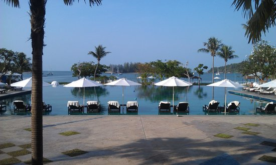 The Danna Langkawi, Malaysia:                   View of the pool.