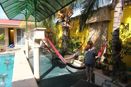 Cascadas de Merida : pool and hamocks