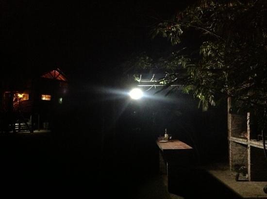 Cabanas del Bajo Hondo:                   Noches tranquilas.