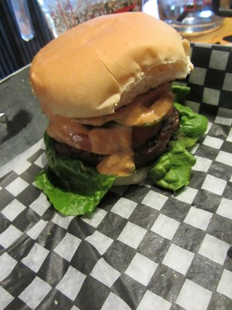 The Works:                   Lunch - 4oz burger