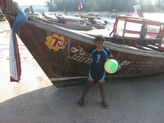 Andaman Camp and Day Cruise:                   Hassan's boat.