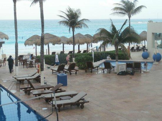 Club Regina Cancun:                   La playa