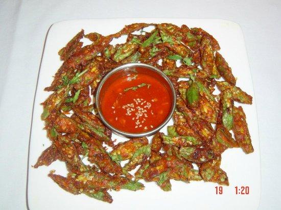 Chutney Mary: Crispy Fried Ladies Finger