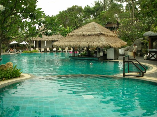 Nora Beach Resort and Spa:                   pool & beach area