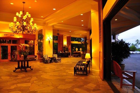 Maui Coast Hotel:                   lobby