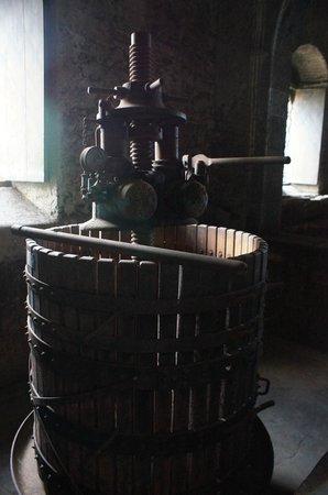 Hotel Feudo Vagliasindi:                   Antique wine press
