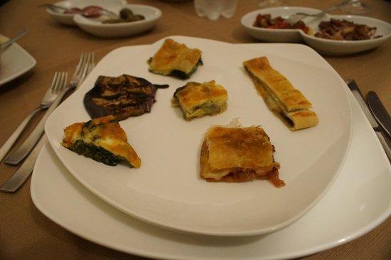 Hotel Feudo Vagliasindi:                   Sicilian antipasti