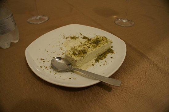 Hotel Feudo Vagliasindi:                   Semifreddo Pistachio