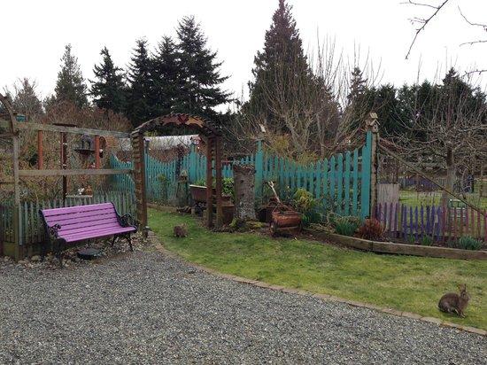 Farmhouse Bed & Breakfast:                   Amazing grounds...beautiful property