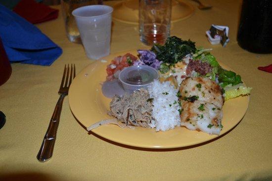 Alii Luau At The Polynesian Cultural Center: Luau food