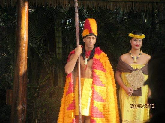 Alii Luau At The Polynesian Cultural Center: Luau show