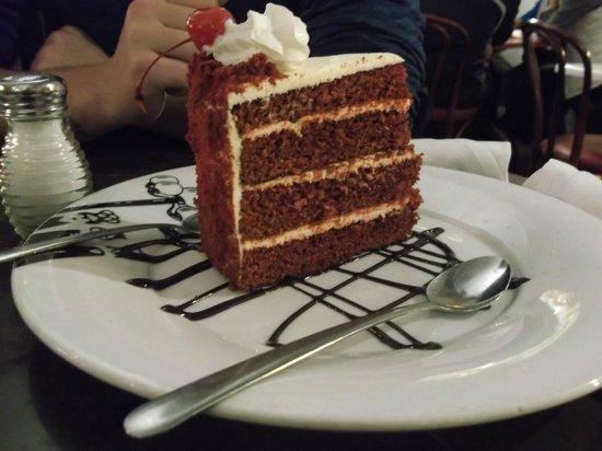 Serendipity 3:                   red velvet cake (don't waste your $$)