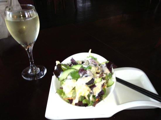 Akira Bistro - Danville : Great Salad with Interesting Dressing-Better Than MOST!