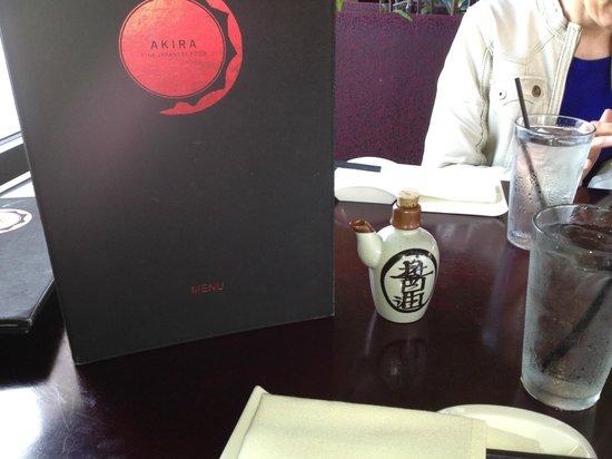 Akira Bistro - Danville : LOVED the Tables!