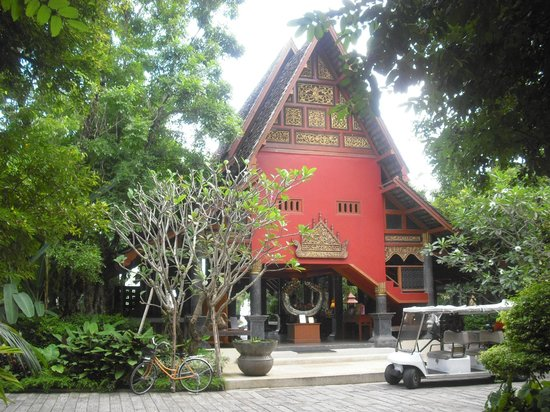 Khum Phaya Resort & Spa, Centara Boutique Collection:                   View of the hotel entrance