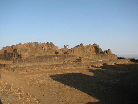 Rajgad Fort : Rajwada at Bale-killa