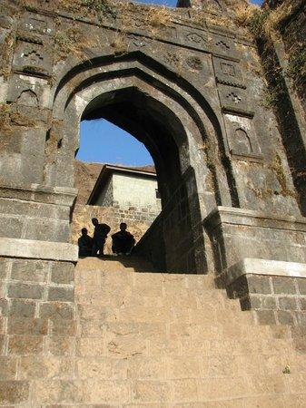 Rajgad Fort : Entrance for bale-Killa