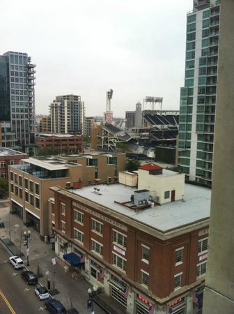 Kimpton Solamar Hotel: View from 10th floor- Padre Stadium