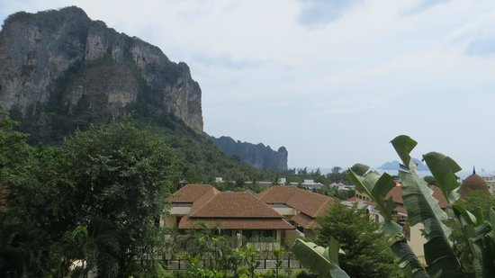 Aonang Cliff Beach Resort:                   View from my balcony.
