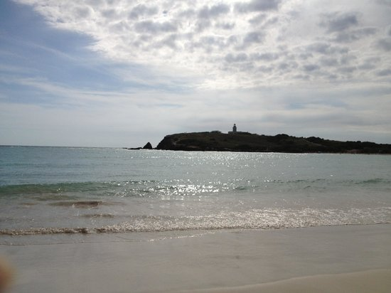 Playa Sucia :                                     View from the beach
