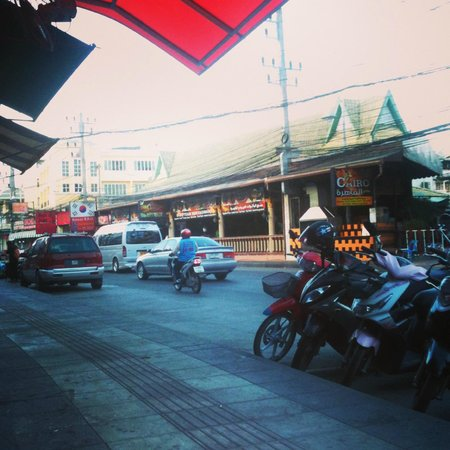Patong Terrace Boutique Hotel:                   the street outside the hotel