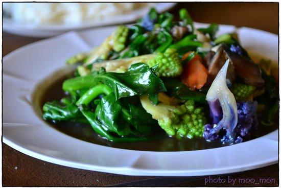 Angkhang Station:                   ผัดผักรวม กรบอร่อยรสชาติดีค่ะ