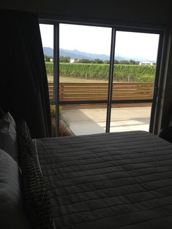Marlborough Vintners Hotel:                                     view