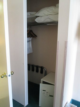 Princess Royale Resort:                   closet