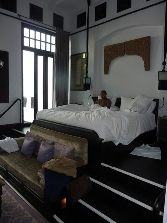 The Siam:                   bedroom