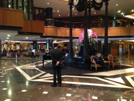 Orchard Hotel Singapore:                   Lobby