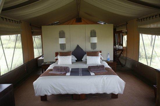 Naboisho Camp, Asilia Africa:                   Bed