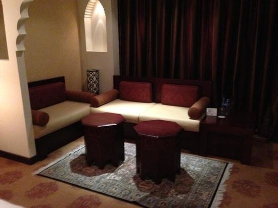 Radisson Blu Hotel, Doha:                   sitting area