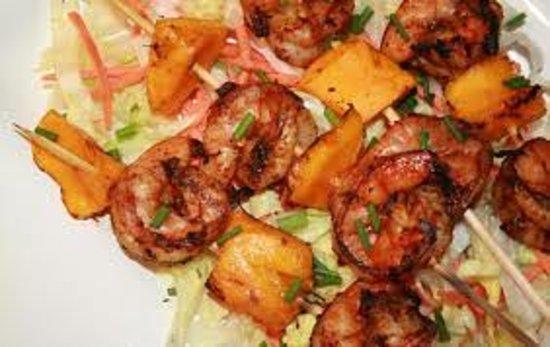 Terrace Cafe & Resto: Seafood sate